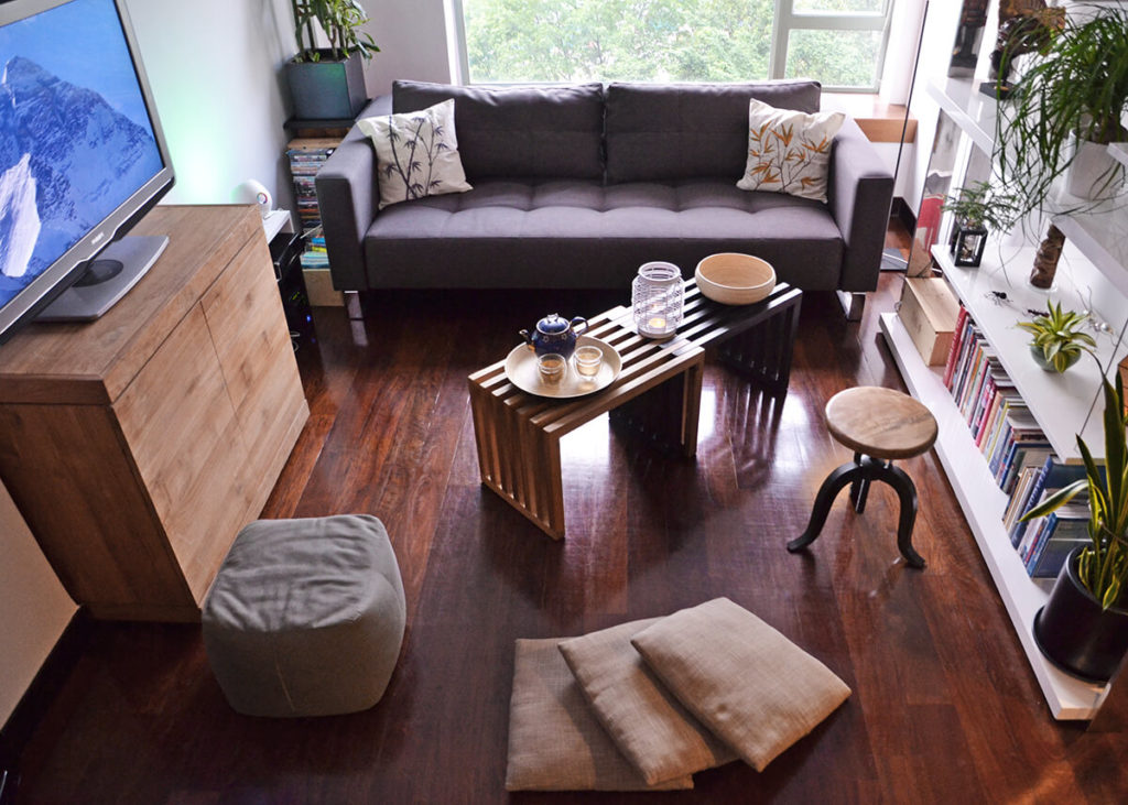 multipurpose furniture - living room The Home Design Coach Tara Barot Interior Design & Coaching
