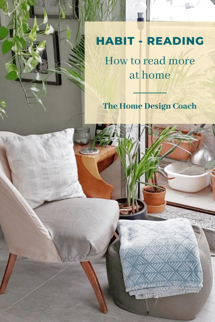 The Home Design Coach - reading habit - Tara Barot