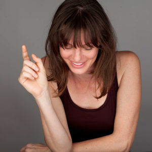 Tara Barot - actor / actress - Hong Kong , improvisor, theatre, film - photo by Ines Laimins